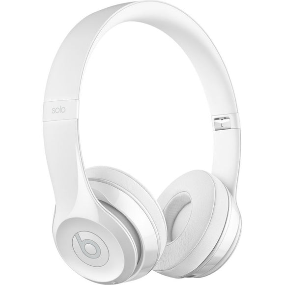 Beats by Dr. Dre Beats Solo3 Wireless On-Ear Headphones (Gloss White)