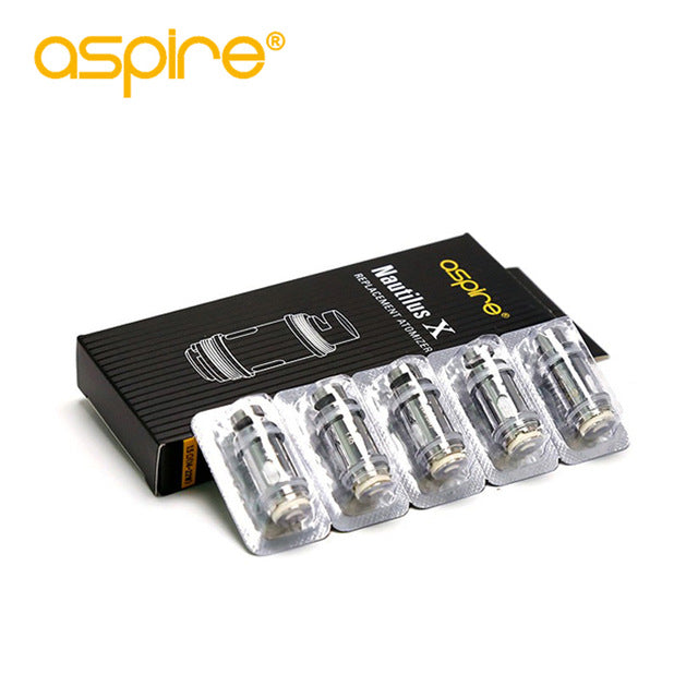 Aspire Nautilus X Replacement Coil (5pcs) - Golden Boy Vape Shop