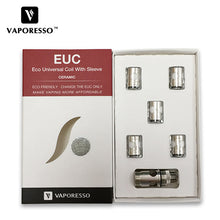 Vaporesso Ceramic EUC Coil (5pcs/pack) - Golden Boy Vape Shop