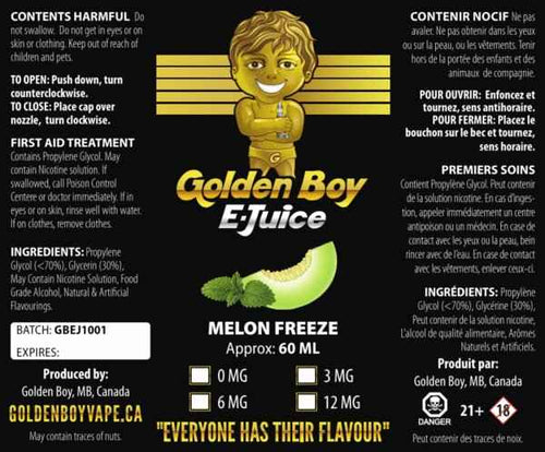 ejuice winnipeg - Melon Freeze