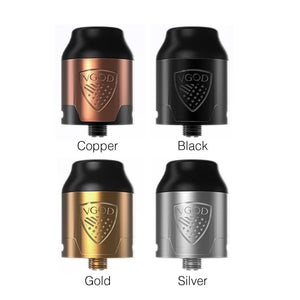 VGOD ELITE RDA 2ml - Golden Boy Vape Shop