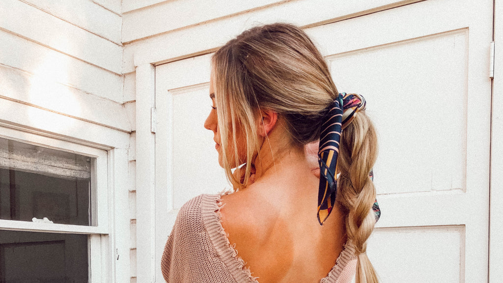 Top 4 Ways to Style Hair Scarfs