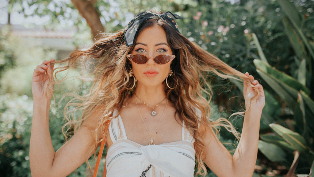 3 Quick & Easy Rules to Styling Sunnies