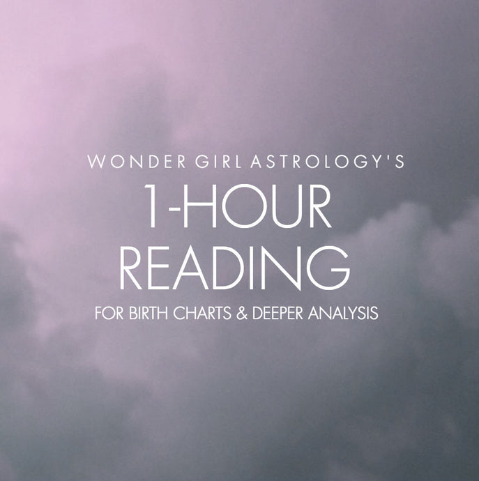 1 Hr Astrology Reading - Natal, Advanced Charts, Solar Return, Solar Arcs, and Transits!