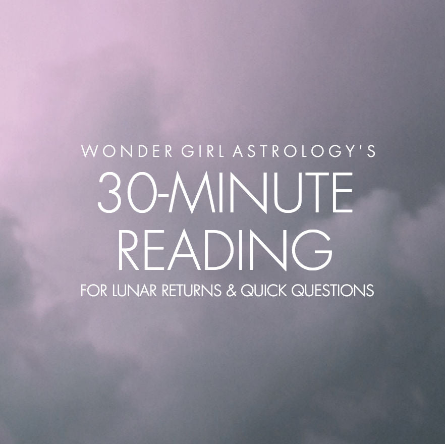 30 Min Astrology Reading - Get the ANSWERS you seek