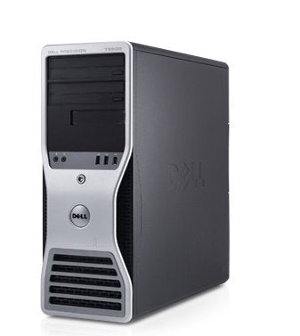 "Dell Precision T5500 Workstation- 32GB of Ram- 8 Core 2X Quad Xeon Upto 3.33GHz- 500GB SSD + 4TB- 4 X 24"" Monitors with Quad Stand (Certified Refurbished0"