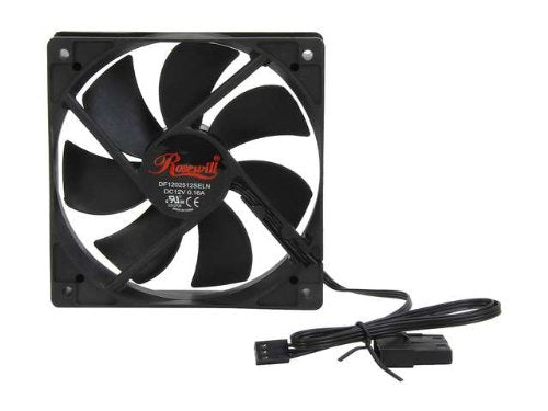 Rosewill 120mm Black Case Fans For Computer Cases 4-Pack - Altcoin Ninjas