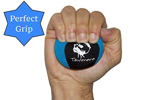Stress Ball for Adults Anxiety - Optimal Squeeze Ball for Hand Strength and Therapy | Great for Exercise and Hand Strengthening | Prevents Arthritis