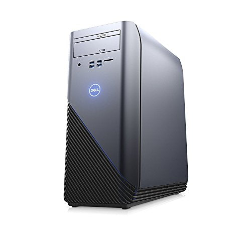 2018 Newest Flagship Dell Inspiron 5675 Premium Gaming VR Ready Desktop Computer (AMD Ryzen 7- 1700 up to 3.7 GHz, 16GB DDR4 RAM, 512GB SSD + 1TB SATA HDD, AMD Radeon RX 570 4GB, DVD, Windows 10)