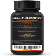 Brain Booster for Premium Brain Function - Supports Memory with Focus & Clarity Formula - Nootropic Scientifically Formulated for Optimal Performance - Ginkgo Biloba, Vitamin B -12,DMAE,Rhodiola Rosea