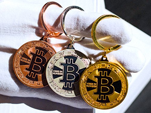 Bitcoin Keychain Collectors Set (3 Pack) Gold, Silver, and Bronze - Altcoin Ninjas