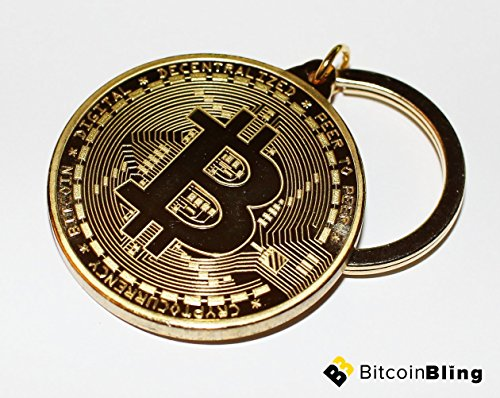 Bitcoin Key Chain Gold Plated - Altcoin Ninjas