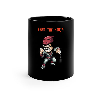 "B-Chains ""Fear the Ninja"" Black mug 11oz"