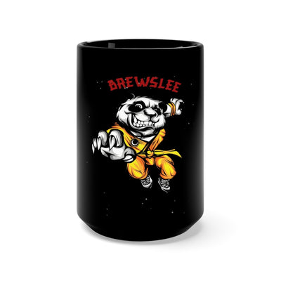 "Brewslee ""Fear the Ninjas"" Black Mug 15oz"