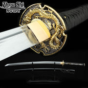 "Samurai Katana ""Ancient Dragon White/Blue/Black"" - Altcoin Ninjas"
