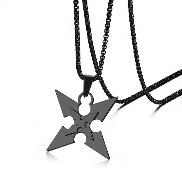 "Necklace ""Ninja Shuriken"" - Altcoin Ninjas"