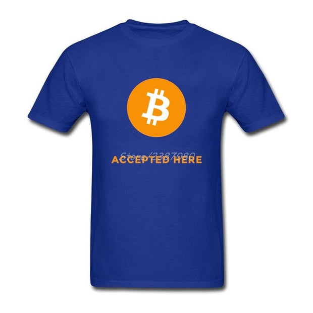 "T-Shirt ""BTC Accepted Here"" - Altcoin Ninjas"