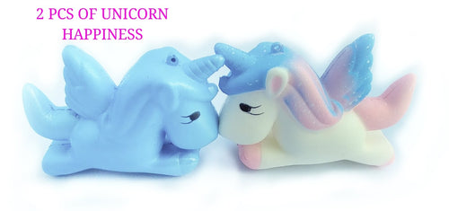 UNICORN SQUISHY 2 PACK OF SQUISHIES BY LUCKY PINEAPPLE