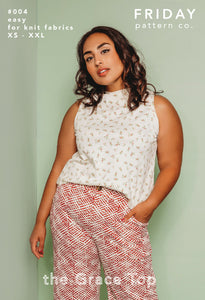Grace Top - Printed Pattern