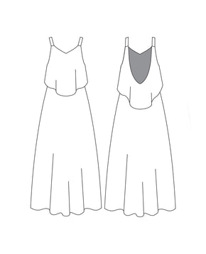 Hilo Dress - PDF Pattern
