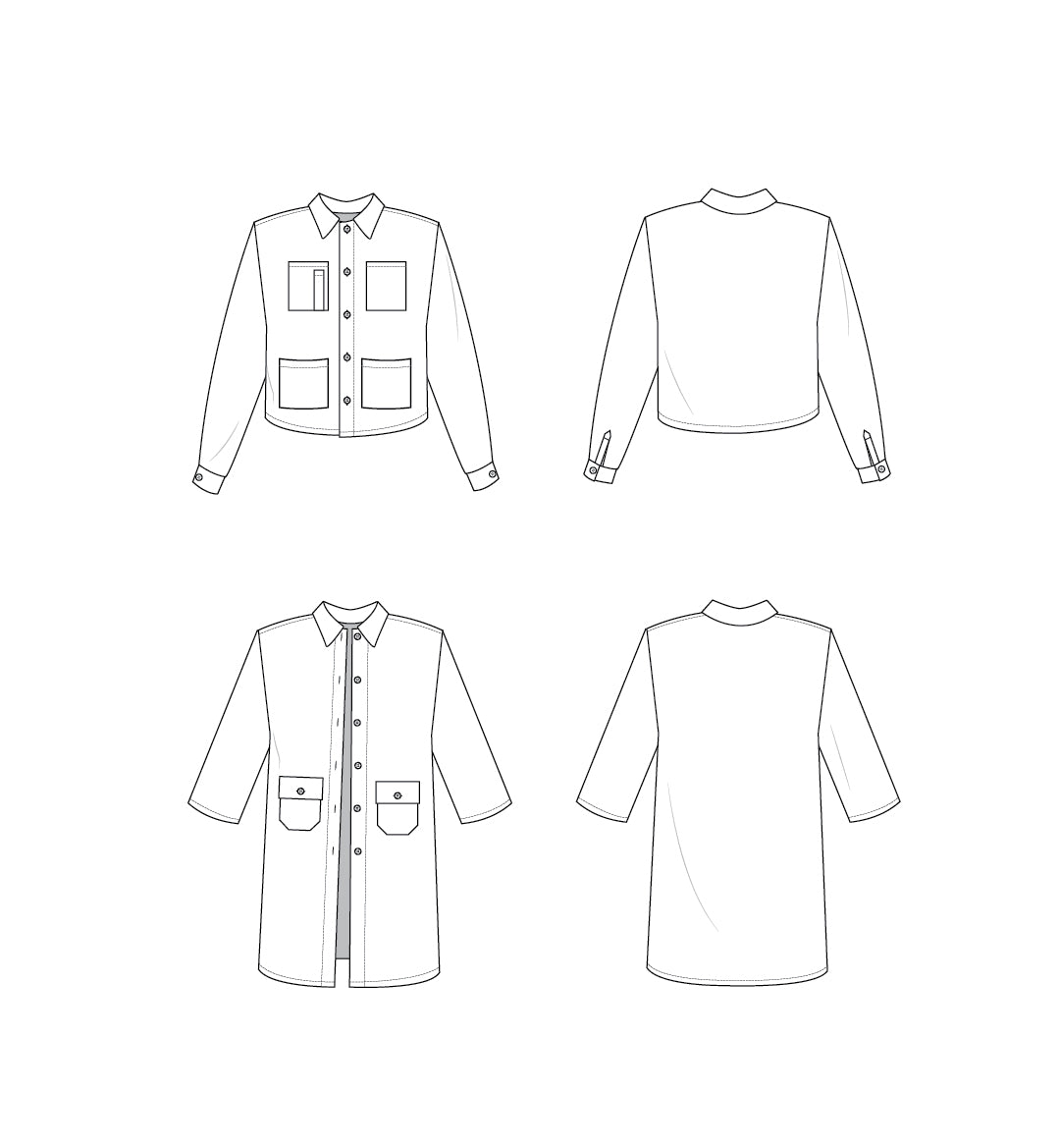 Pre-Order Ilford Jacket - Printed Pattern