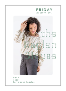 The Raglan Blouse - Printed Pattern