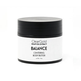 clear gold balance body butter cbd extract