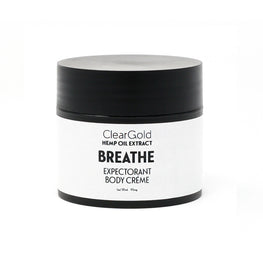 clear gold breathe body cream hemp oil herbal blend