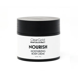 clear gold nourish body creme hemp oil ointment