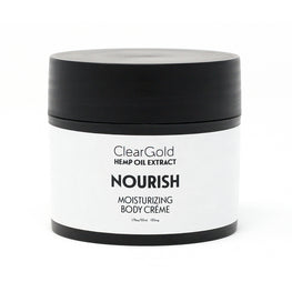 clear gold nourish body creme cannabis ointment
