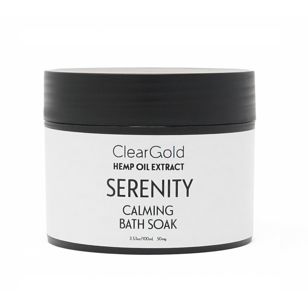 serenity bath soak cbd hemp oil beauty care goods