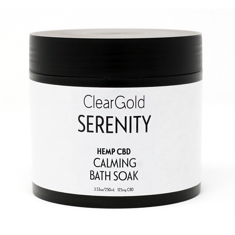 serenity bath soak cbd hemp oil beauty care items