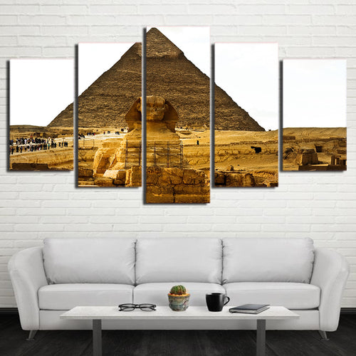 Ancient Egypt Pyramid Canvas