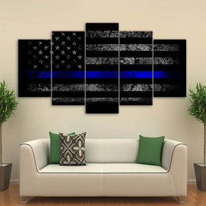 HD - American Flag Canvas