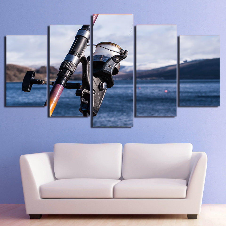 Fishing Rod Tools Canvas