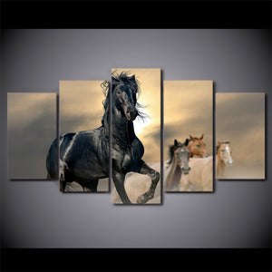 Running Horses Canvas