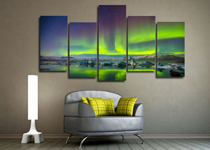 Aurora Night Canvas