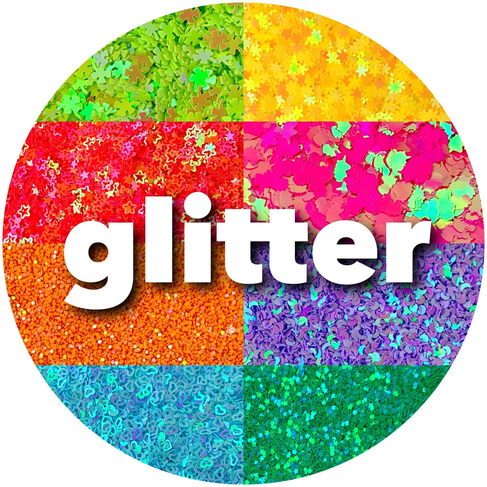 Glitter - Shop Slime Supplies - Dope Slimes