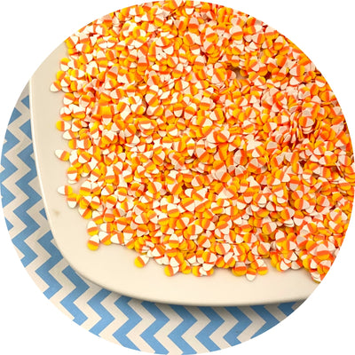 Candy Corn Fimo Slices