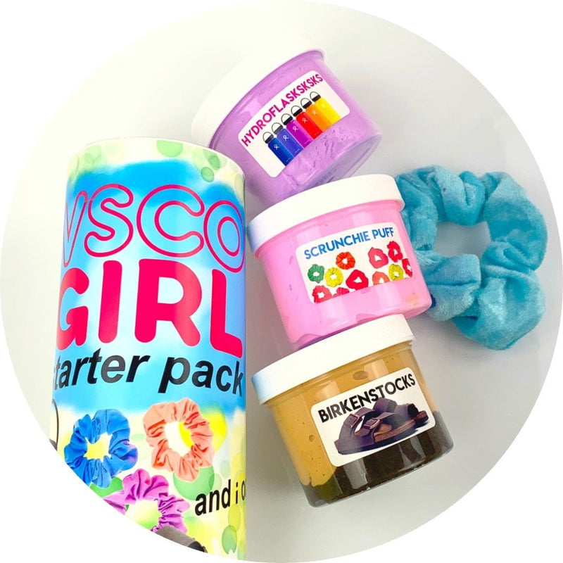 VSCO Girl Starter Pack Slime Kit - Shop Slime - Dope Slimes