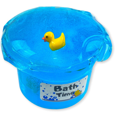 Bath Time Clear Slime w/ Charm - Buy Slime - Dope Slimes Shop