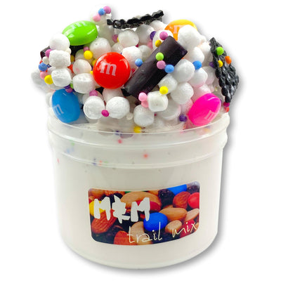 M&M Trial Mix Floam Slime Scented - Buy Slime Here - Dope Slimes