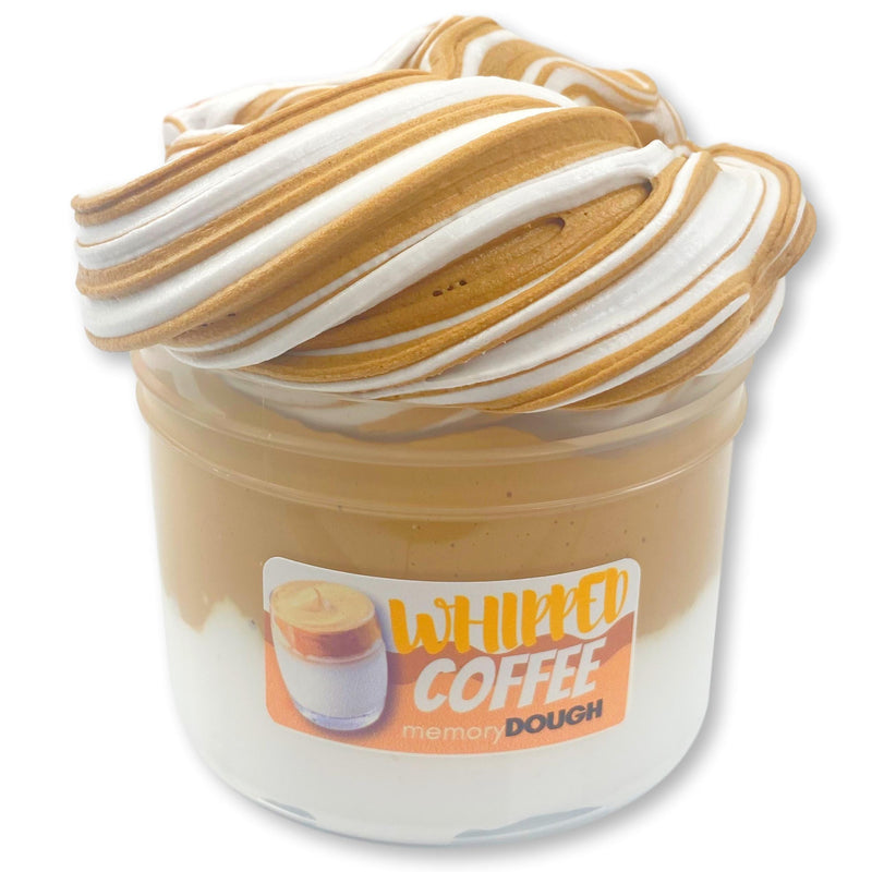 Whipped Coffee memoryDOUGH® Butter Slime - Shop Slime - Dope Slimes