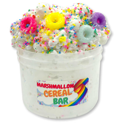 Marshmallow Cereal Bar Floam Slime - Shop Slime - Dope Slimes
