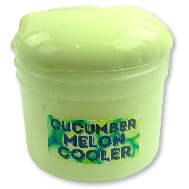 Cucumber Melon Cooler Thick & Glossy Slime - Shop Slime - Dope Slimes