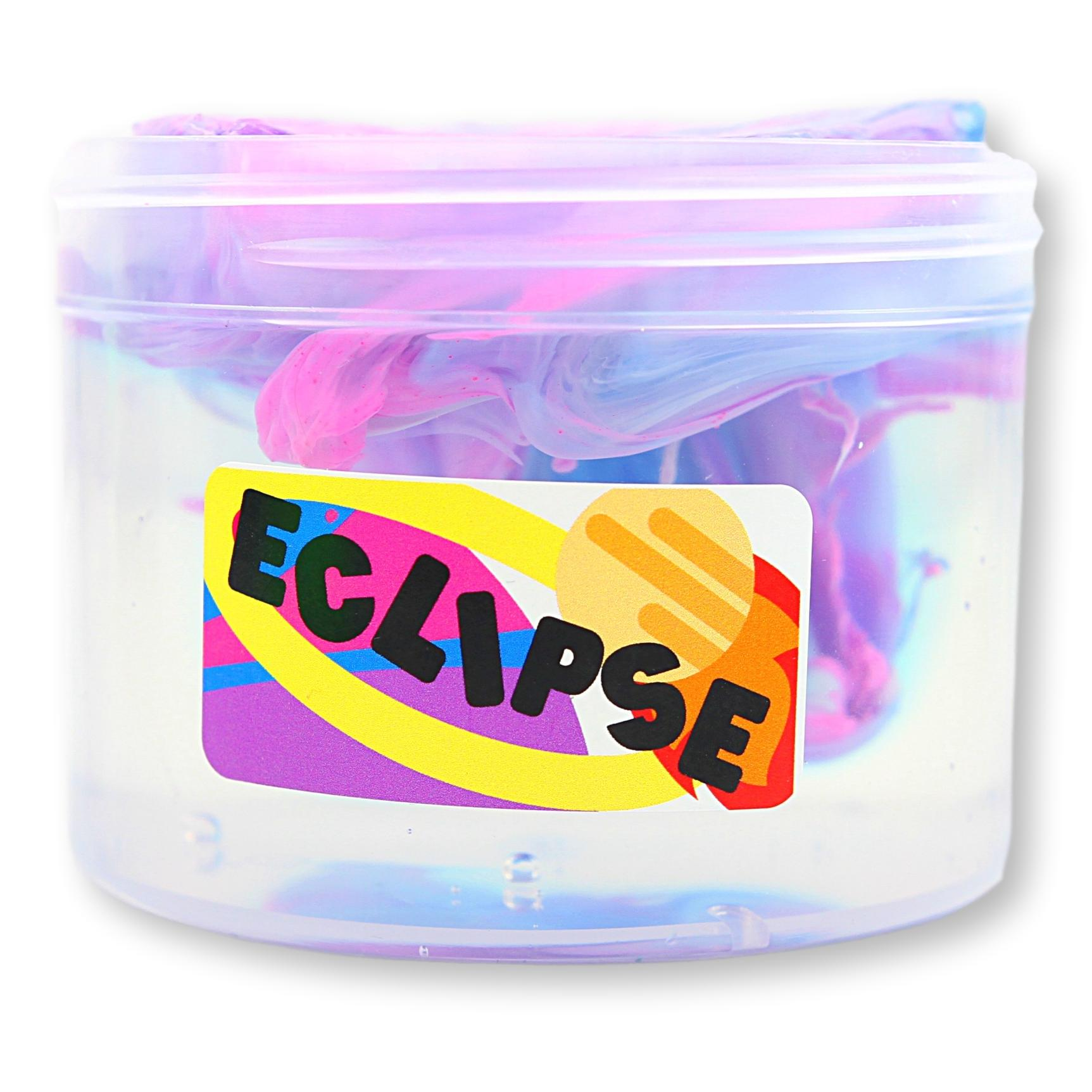 Eclipse Clear Avalanche Slime - Shop Slime - Dope Slimes