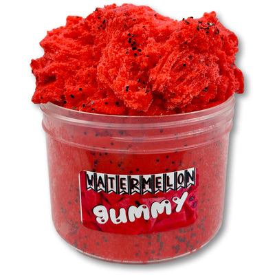 Watermelon Gummy Cloud Slime - Buy Slime Here - DopeSlimes Shop