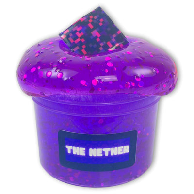 The Nether Clear Slime - Shop Slime - Dope Slimes