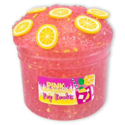 Pink Lemonade Pop Rocks Slime - Shop Slime - Dope Slimes