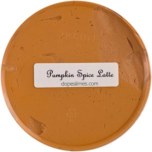 Pumpkin Spiced Latte Butter Slime - Dope Slimes Shop
